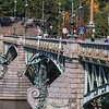 The ornate bridges of Europe are always fun to visit and photograph. Although usually lit up , they are tricky to capture at night.