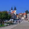 Main Plaza at Telc, Czechia.