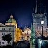 Another night view of a main tourist hot spot in Prague.