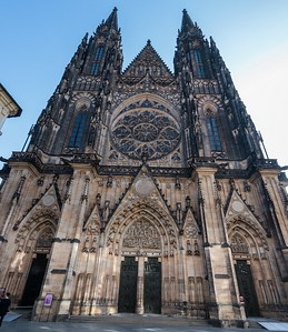 St. Vitus Cathedral, Prague.