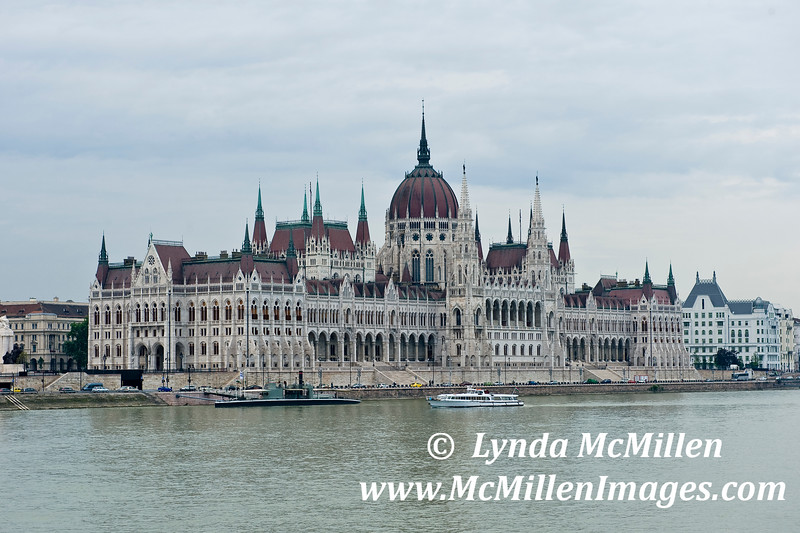 Budapest's Houses of Parliament on the Danube.