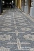 Star of David cobblestones in Old Jewish Quarter of Prague.
