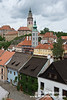 The Cesky Krumlov castle complex is the 2nd largest in Czech Republic.  Only the Hradcany Castle complex is larger.