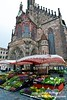 Farmer's Market in Our Lady's Church Square, Nuremburg.