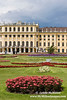 Schonbrunn Palace from gardens (portrait)