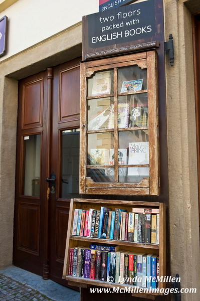 """Prague Bookstore: """"Two floors packed with ENGLISH BOOKS"""""""