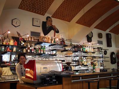 Art-deco café,  Museum of Decorative Arts. Prague