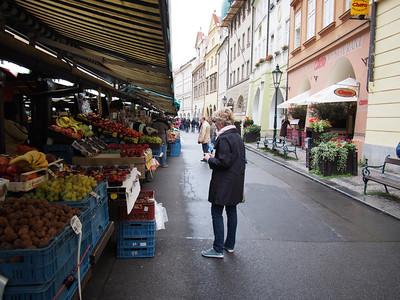 Street market, Prague Old Town