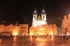 Týn Church Old Town Square Prague
