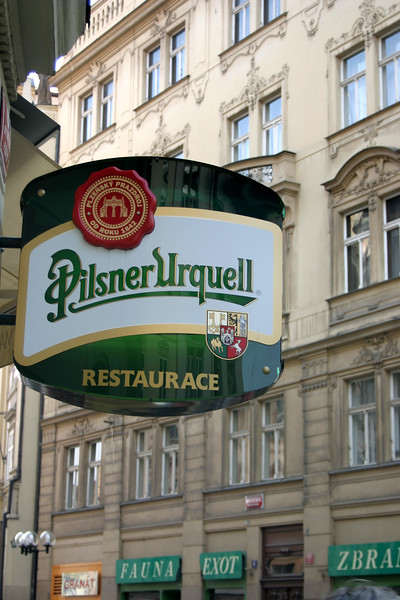 Another highlight of Prague is the Beer which I definitely made the  most of. Beer perfected = Pilsner Urquell