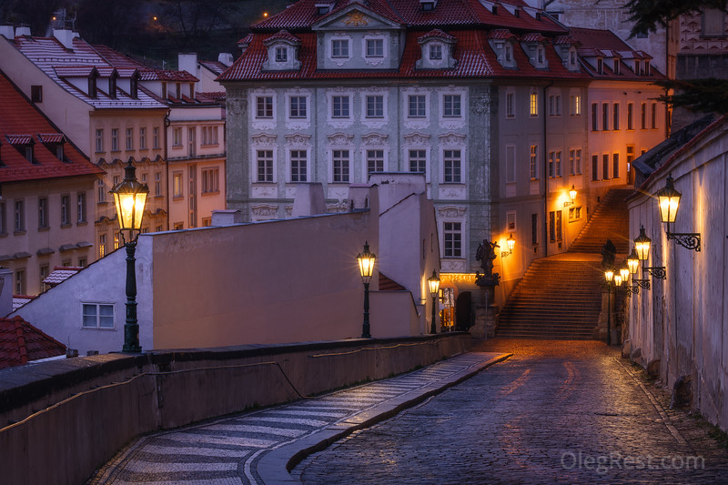 Morning in Prague