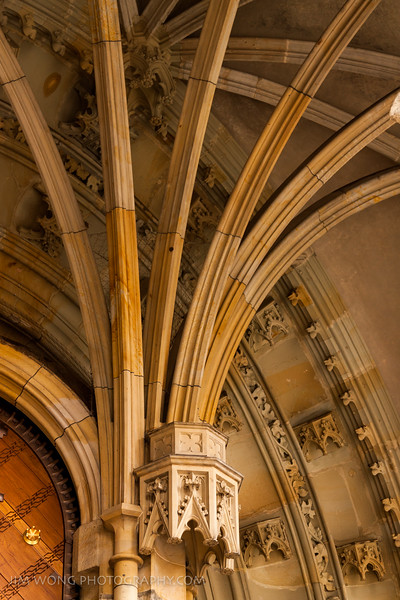 Vault of the Golden Gate, St. Vitus Cathedral, Prague