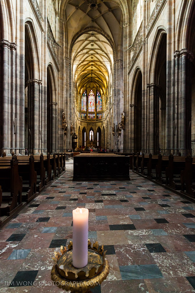 Nave of St. Vitus Cathedral, Prague