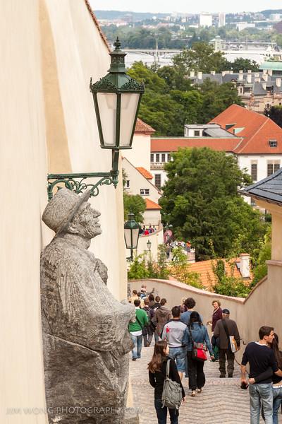 Castle walls, Prague