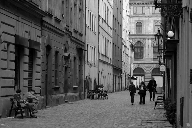 Typical street scene in Old town Prague. This was one of my favorite parts of Prague, just wandering around with no real agenda and seeing these off the beaten path areas.