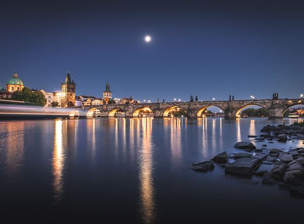 A summer's eve! - Charles Bridge, Prague