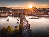 Evening Rush! - Charles Bridge, Prague
