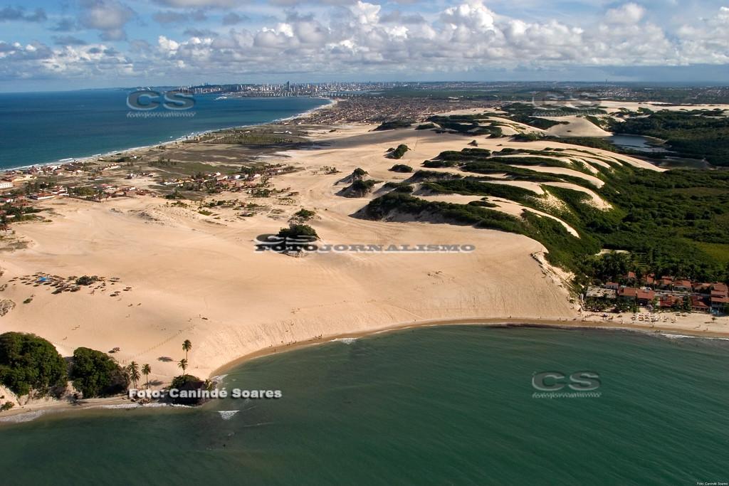 Dunas e praia de Jenipabu