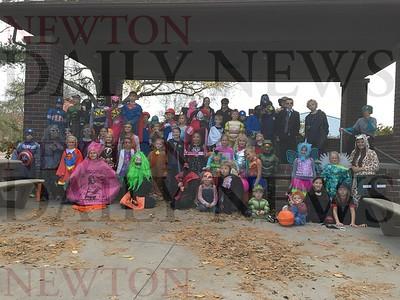 Prairie City Halloween Walk 2016