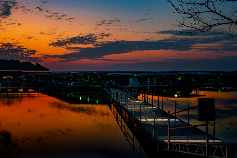 9.19.19 - Prairie Creek Marina:  Early this A.M.