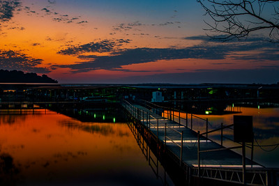 9.19.19 - Prairie Creek Marina:  Early this A.M.