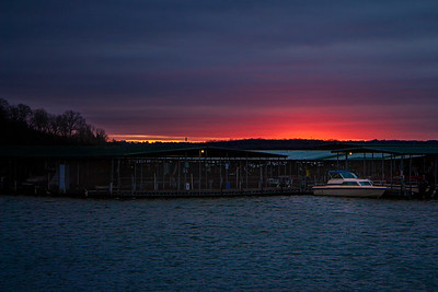 12.1.19 - Prairie Creek Marina: A cold and windy morning today.