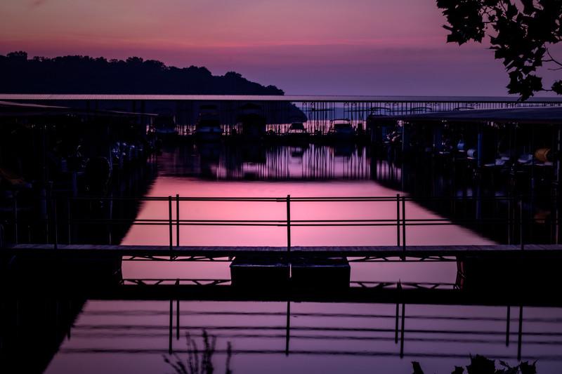 8.5.19 - Prairie Creek Marina: Monday Sunrise.