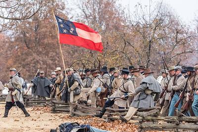 Prairie Grove Civil War Reenactment 2016