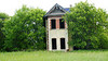 Abandoned brick farmhouse Carberry MB