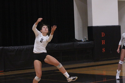 Prairie du Chien @ Dodgeville Volleyball 9-6-18