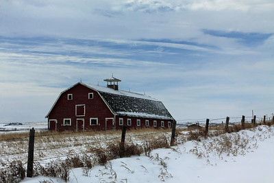 Wintry Farm