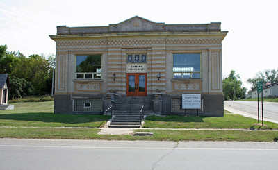Browns Valley MN- Carnegie Public Library