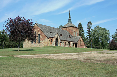 Danvers MN - Church of the Visitation.  It's not often I run across a church with no signage.  A lovely old building, built in 1931.  No idea of the history and the internet has not provided me with much information on this one.