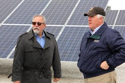 PPE 11-20-15 Shimkus visits Shelby Solar Farm