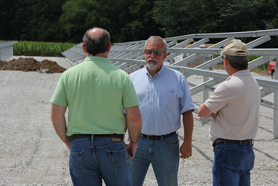 PPE solar project construction at Shelby 7-21