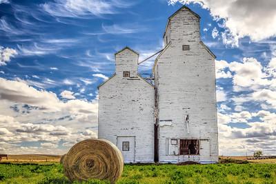 White Grain Elevator