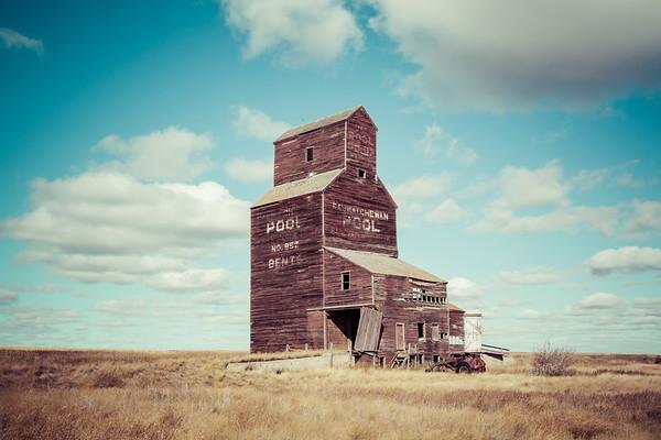Vintage Grain Elevator