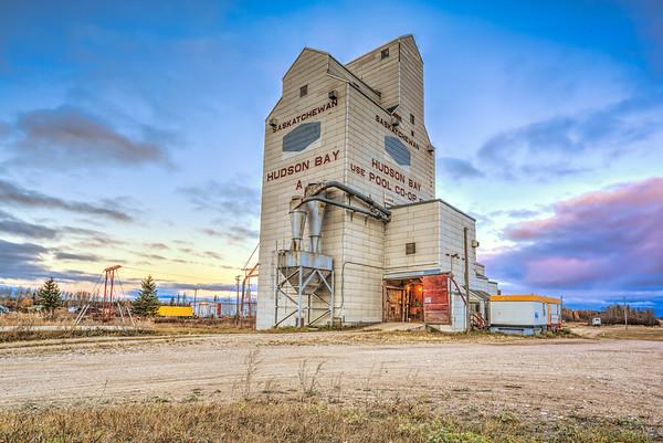 Hudson Bay Grain Elevator