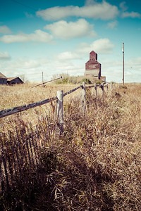 Wooden Fence in Ghost Town