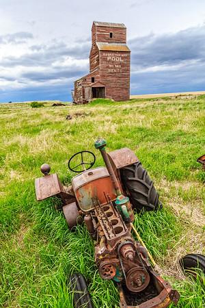 Abandoned Tractors