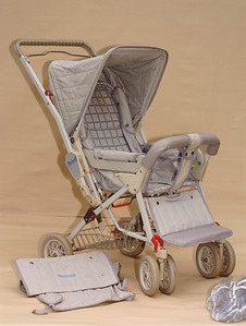 1986-87 Steelcraft 'Out & About' stroller.