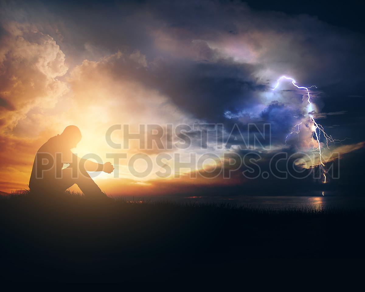 Praying through the storm