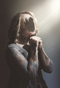 Hollow Woman Praying