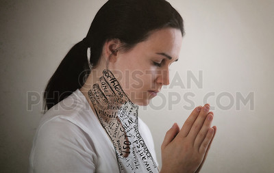 Praying while being choked