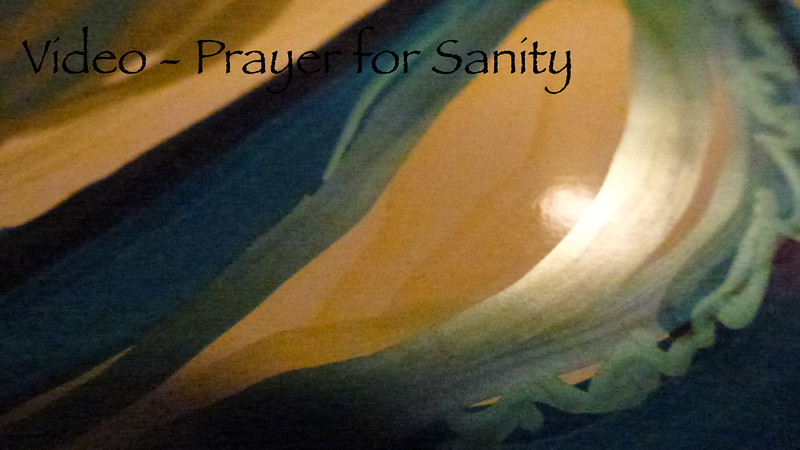 Prayer for Sanity  (with sound)