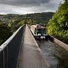 Llangollen Canal, Pontcysylte Acqueduct 1795, Wales