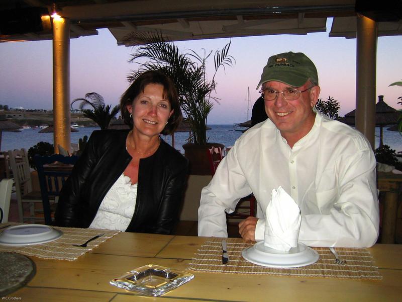 Kathi and Bill in Mykonos