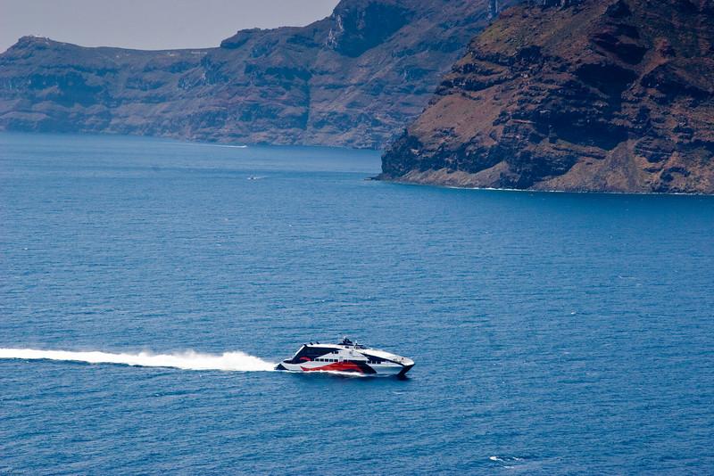 Ferry underway