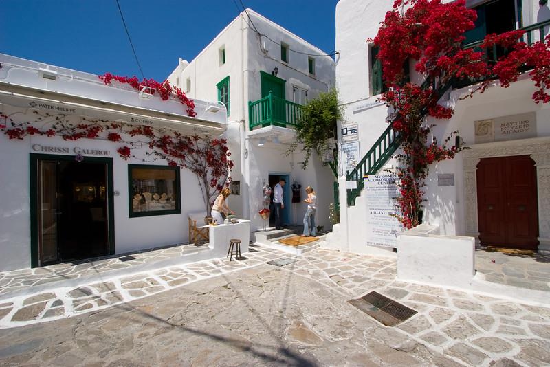 Mykonos  street