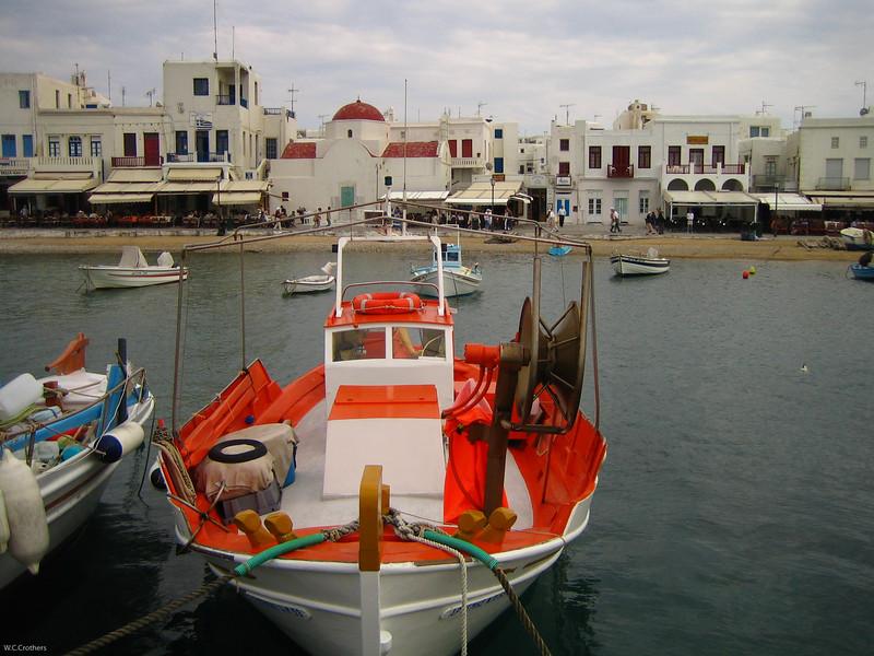 Mydonos harbor